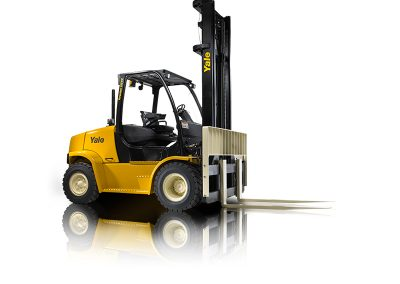15,000lbs Semi-Pneumatic LP Forklift