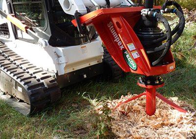 Stump Grinder for Skidsteer