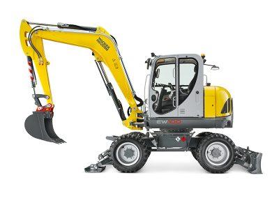21,500lbs 13′ Dig Depth Wheel Excavator