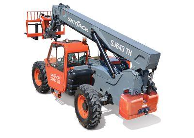 6,000lbs 42′ Forklift Telehandler