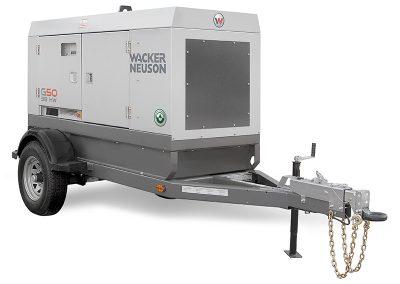 50KW Towable Generator