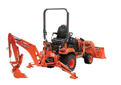 6′ 10″ Dig Depth Mini Backhoe